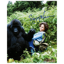 Load image into Gallery viewer, Sigourney Weaver Autographed Gorillas in the Mist The Story of Dian Fossey 8x10 Photo