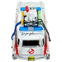 Load image into Gallery viewer, Sigourney Weaver Autographed Ghostbusters Ecto-1 1:18 Scale Die-Cast Car