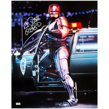 Load image into Gallery viewer, Peter Weller Autographed RoboCop 16×20 Photo
