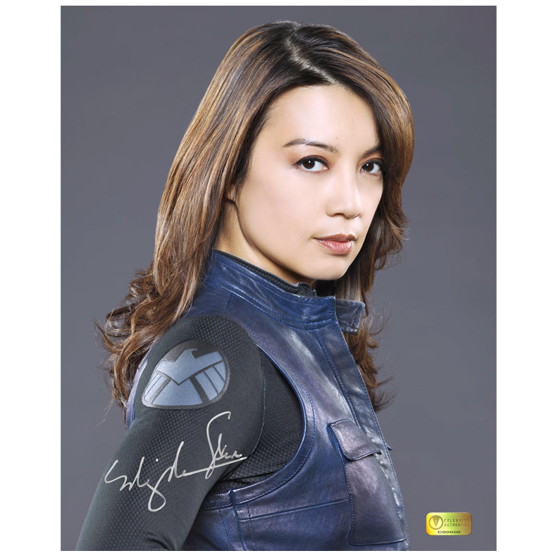 Ming-Na Wen Autographed Agents of S.H.I.E.L.D. Agent May 8×10 Portrait Photo
