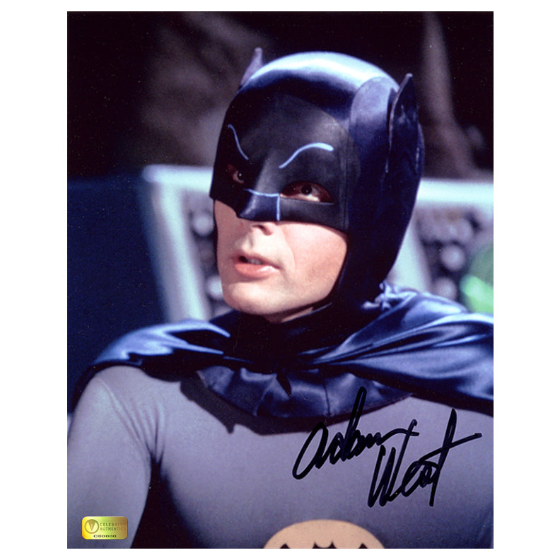 Adam West Autographed Classic Batman 8x10 Portrait Photo