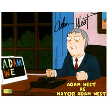 Load image into Gallery viewer, Adam West Autographed Family Guy Mayor Adam West 8x10 Photo