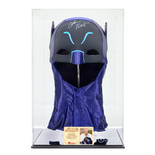 Load image into Gallery viewer, Adam West Autographed 1:1 Scale Classic 1966 Batman Cowl with Display Case