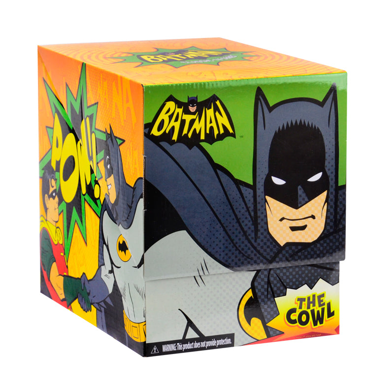 Adam West Autographed 1:1 Scale Classic 1966 Batman Cowl with Display Case