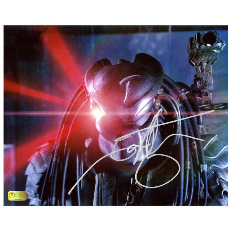 Ian Whyte Autographed AVP: Alien vs Predator Battle Ready 8×10 Photo
