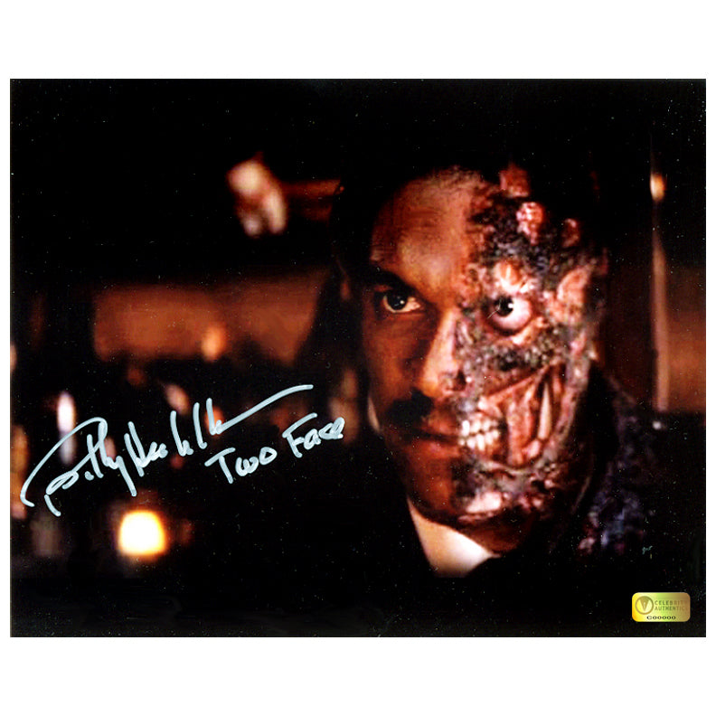 Billy Dee Williams Autographed Batman Two Face 8x10 Photo
