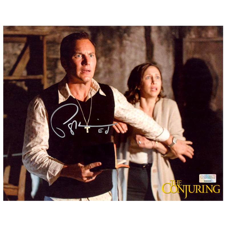 Patrick Wilson Autographed The Conjuring Exorcism 8x10 Scene Photo