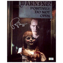 Load image into Gallery viewer, Patrick Wilson Autographed Annabelle Comes Home Do Not Open 8x10 Photo