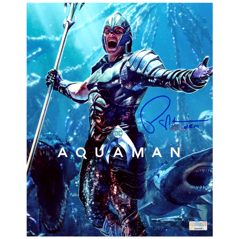 Patrick Wilson Autographed Aquaman King Orm 8×10 Photo