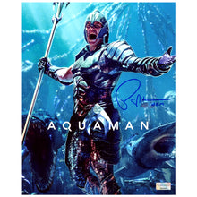 Load image into Gallery viewer, Patrick Wilson Autographed Aquaman King Orm 8×10 Photo