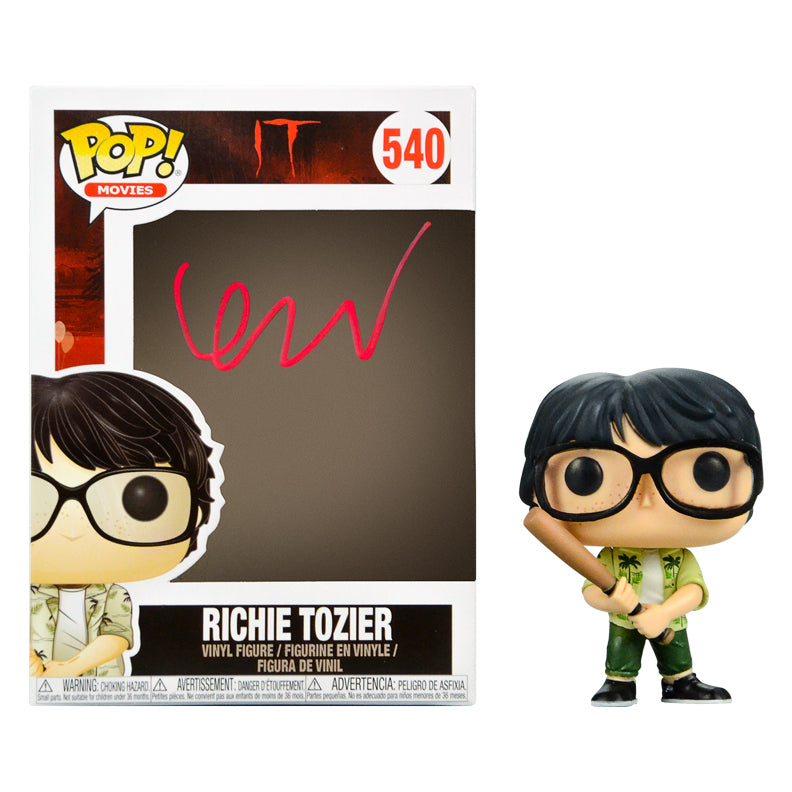 Finn Wolfhard Autographed IT Richie Tozier POP Vinyl #540