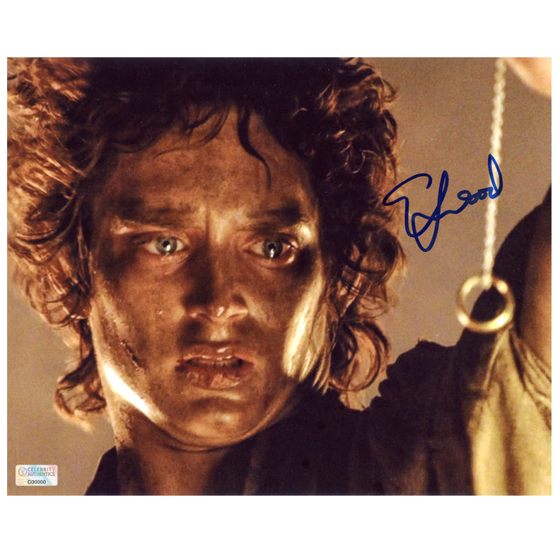 Elijah Wood Autographed Lord of the Rings Return of the King 8x10 Photo