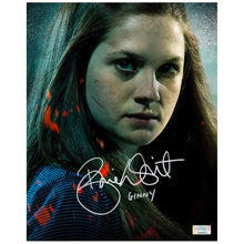 Load image into Gallery viewer, Bonnie Wright Autographed Ginny Weasley 8×10 Close Up Photo