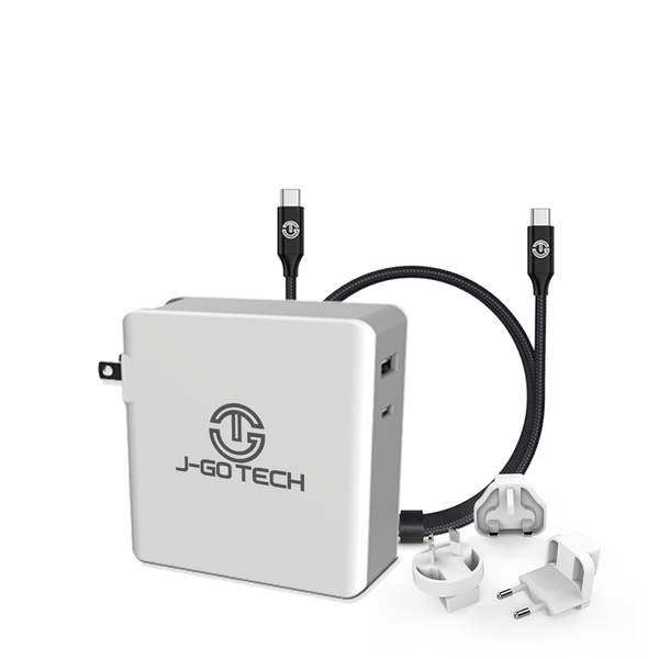 J-Go Tech 112W USB-C PD International Power Adapter by J-Go Tech
