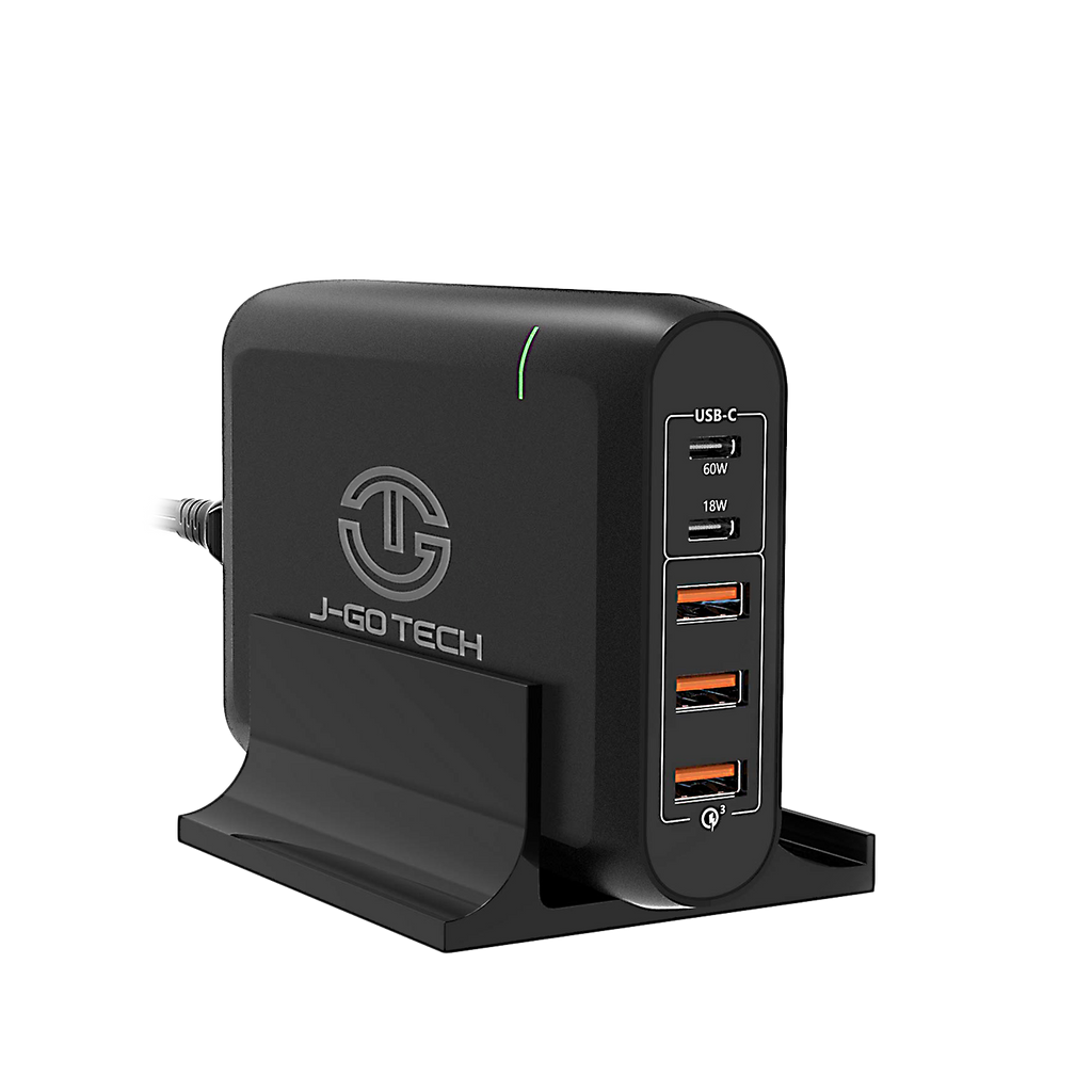 96W Dual Type-C PD Travel Charger Adapter