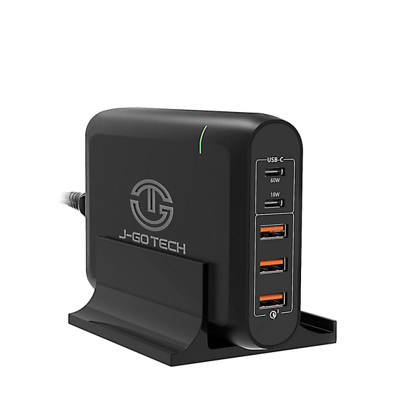 96W Dual Type-C PD Travel Adapter + Desktop Charger