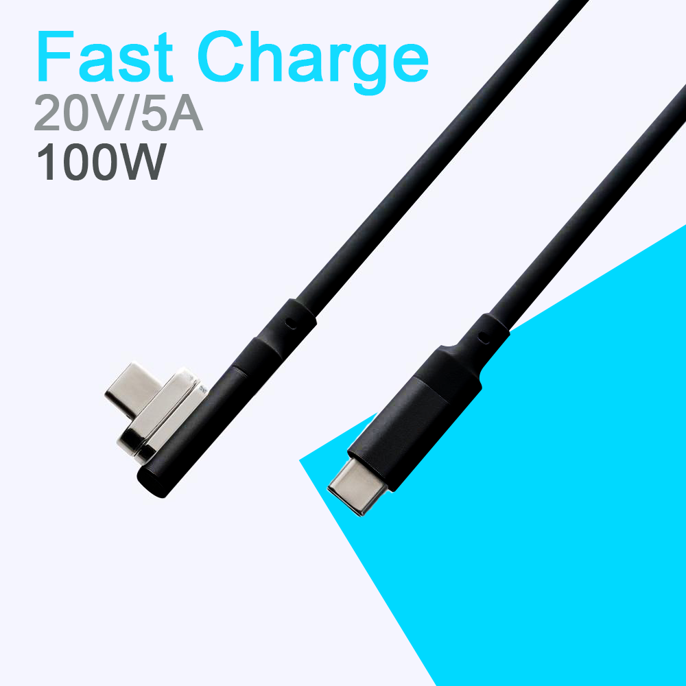 USB-C Magnetic 100W Charging and Data Transfer Cable