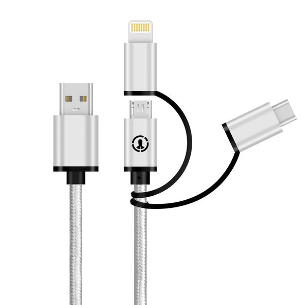 J-Go Tech Universal USB Data Transfer & Charging Cable | 3.3ft by J-Go Tech