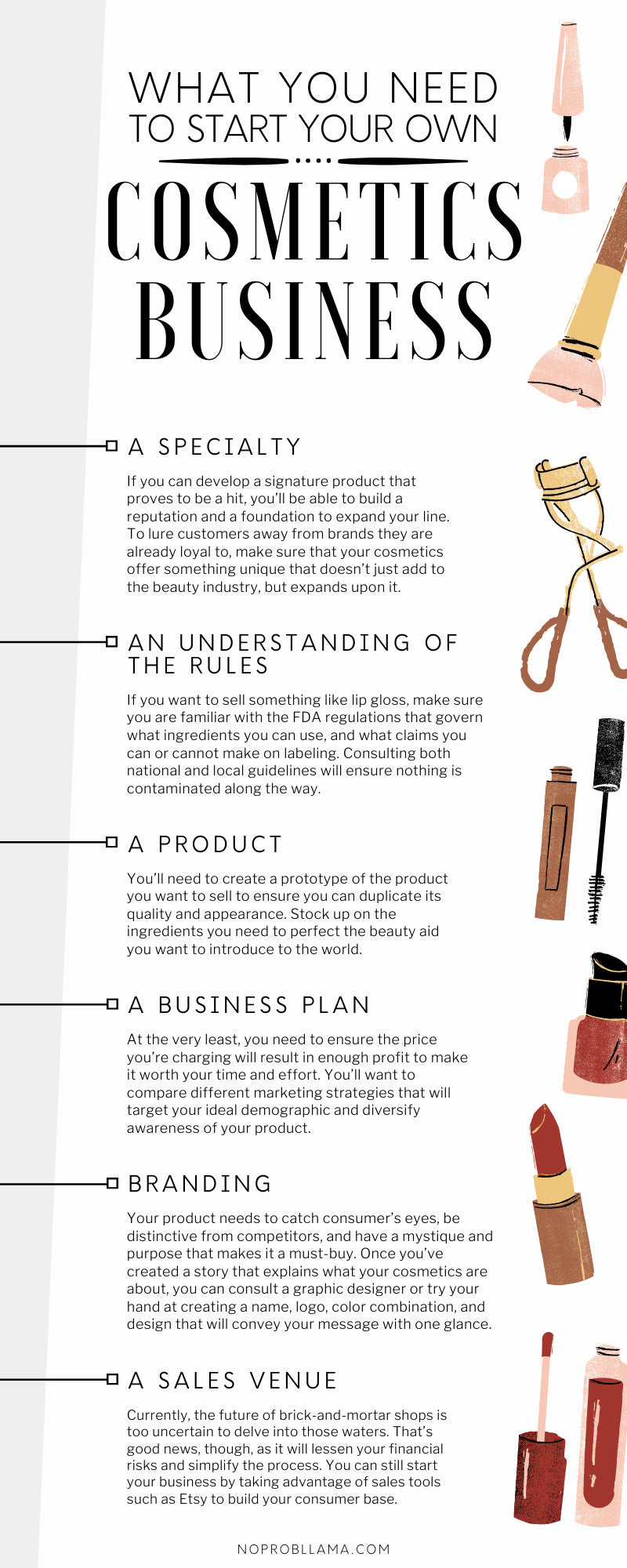 What You Need To Start Your Own Cosmetics Business