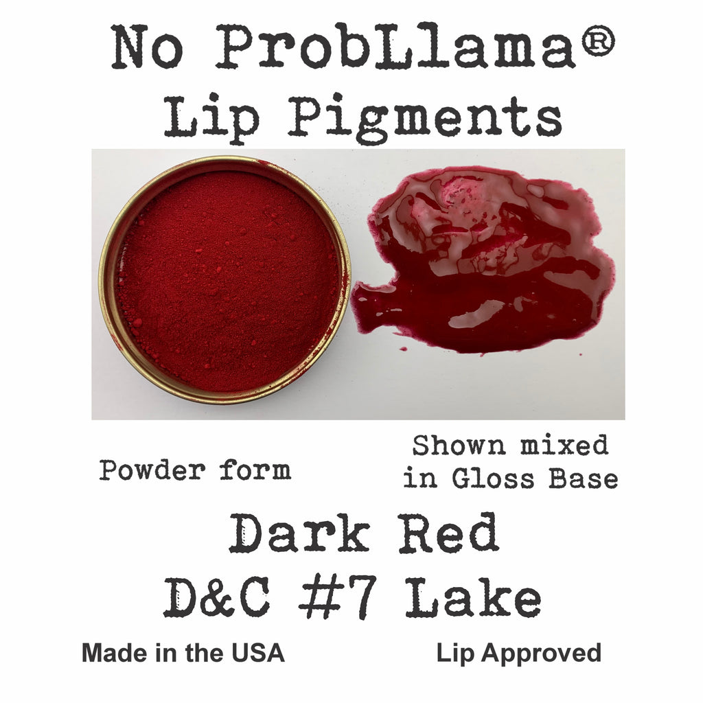 Dark Red D&C #7 Lake pigment