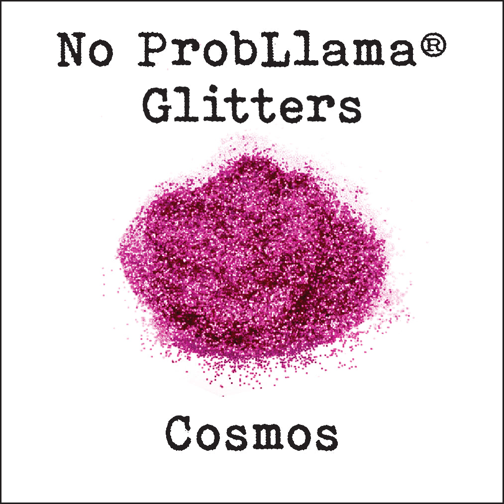 No Prob-Llama Glitter - Cosmos - Made in the USA - .015 Hex