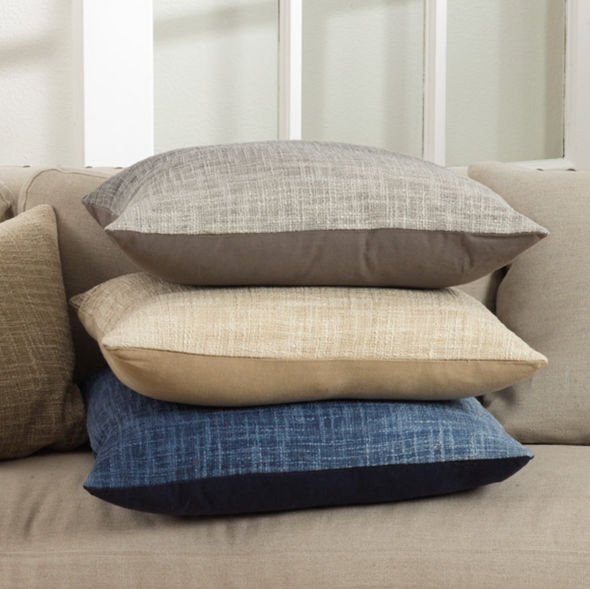 Ombre Design Pillow - Fog