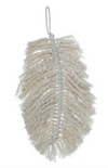 Cotton Knotted Hanging Feather