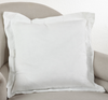 Flanged Pillow - Ivory