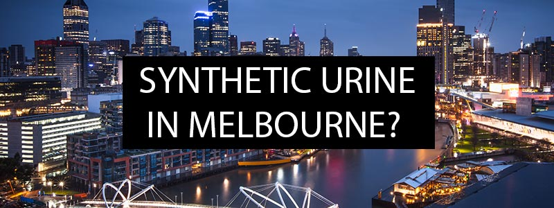 Where can you get synthetic urine in Melbourne?