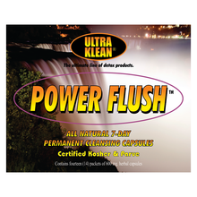 Load image into Gallery viewer, Power Flush Permanent Capsules (7 & 14 Day Detox)