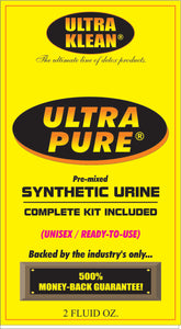 Ultra Pure Synthetic Urine