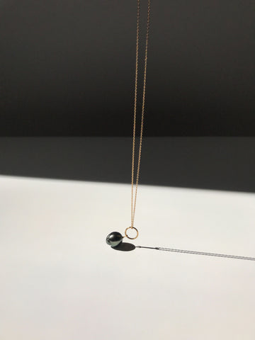 Stellar Necklace with Tahitian Pearl