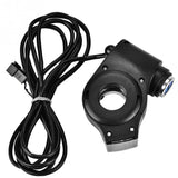 Electric Bike Scooter Handlebar Mount 12-99v LED Display Voltmeter & Key Lock