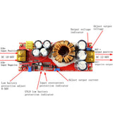 1500W 30A CC CV Boost Converter DC 10V-60V to 12V-90V Step Up Power Supply