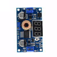 75W 5A Adjustable DC Step Down Power Supply Voltmeter Heatsink Standoffs XL4015