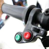 Handlebar Light Horn On/Off Signal Indicator Switch Electric Bike Motorcycle