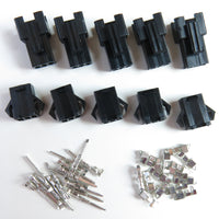 5 Pair JST-SM 3-Pin Plug Terminal Connector 5 Male + 5 Female 2.5mm Pitch