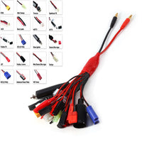 19 in 1 RC Lipo Battery Multi Charger Plug Adapter Converter Charging Cable