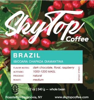 BRAZIL **91 Rating from Coffee Review**