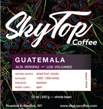 Load image into Gallery viewer, GUATEMALA LOS VOLCANES - DARK ROAST