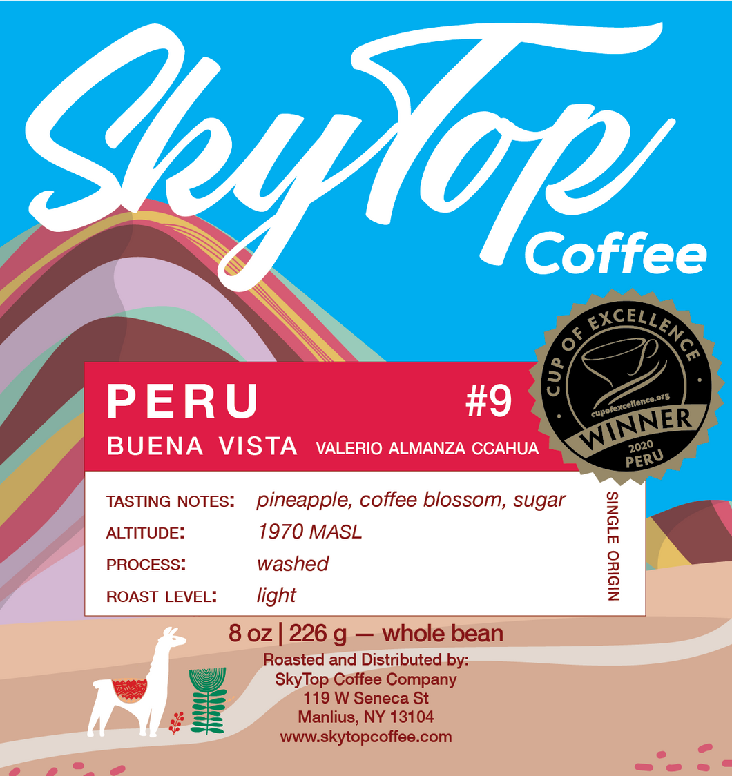 PERU  - Cup of Excellence  - #9