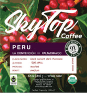 Load image into Gallery viewer, PERU-Paltachayoc **91 Rating from Coffee Review** SOLD OUT UNTIL NEXT HARVEST