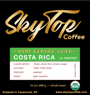 Costa Rica-Rum Barrel Aged