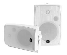"Load image into Gallery viewer, ASP90 6.5"" Premium Outdoor Weather-Resistant Patio Speakers with 70v Switch (Pair)"