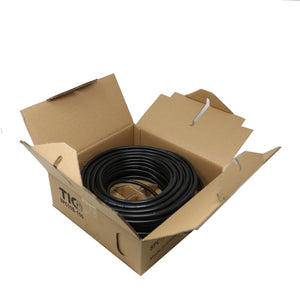 SPC16B-100  16AWG Outdoor Speaker 100 Feet Wire Rated for Outdoor Direct Burial and in-Wall Installation Speaker Cable Oxygen Free Copper UL CL3