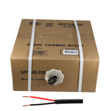 Load image into Gallery viewer, 16 AWG Outdoor Speaker 200 Feet Wire Rated for Outdoor Direct Burial and in-Wall Installation Speaker Cable Oxygen Free Copper UL CL3