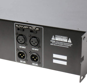 TIC-D2500 2Input 2-Zone 4Ω / 8Ω / 70V 2300W Bridged Power Amplifier