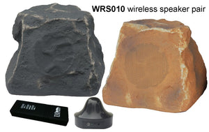 WRS010 - Wireless Rock Speakers System (pair)