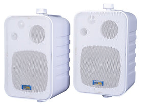 "ASP25 - 4.25"" 3-Way Outdoor Weather-Resistant Patio Speakers (Pair)"