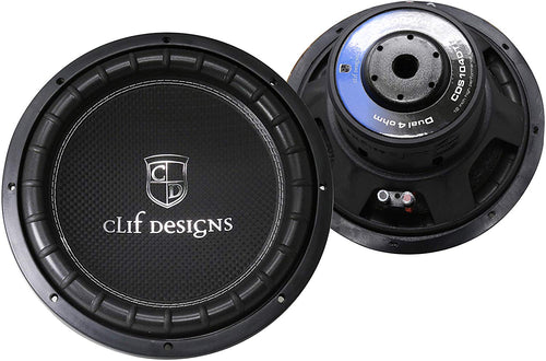 TIC 10 inch High Performance USQ Car Subwoofer Driver 4Ω Dual Voice Coil 1000 Watts Max Power